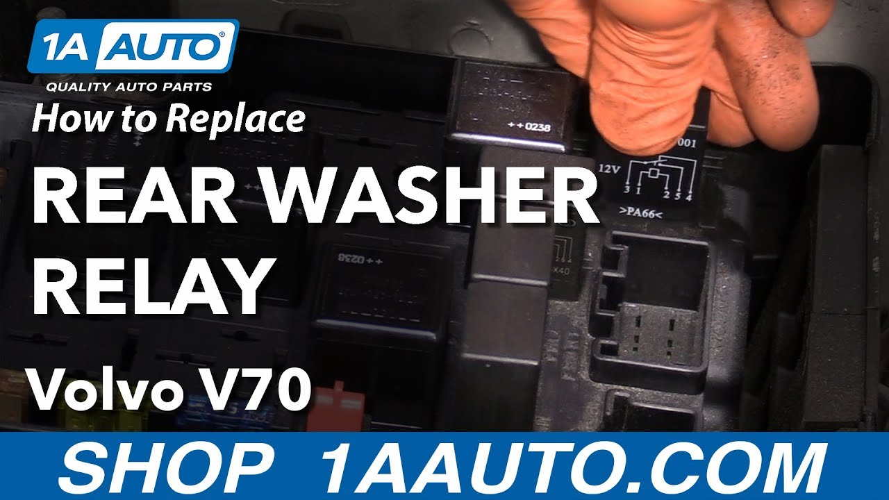 How to Replace Relay 98-07 Volvo V70