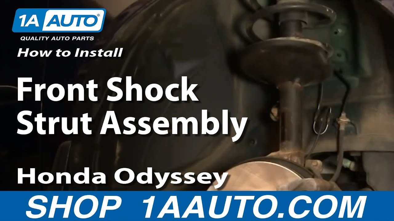 How to Replace Strut & Spring Assembly 99-04 Honda Odyssey
