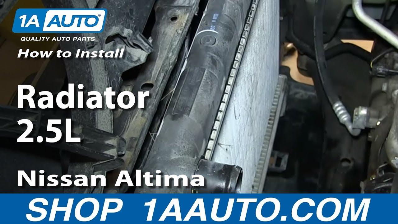 2414 Radiator for 02-06 Nissan Altima 2.5L L4 4-Cylinder 03 04 05 2005 2004 2003