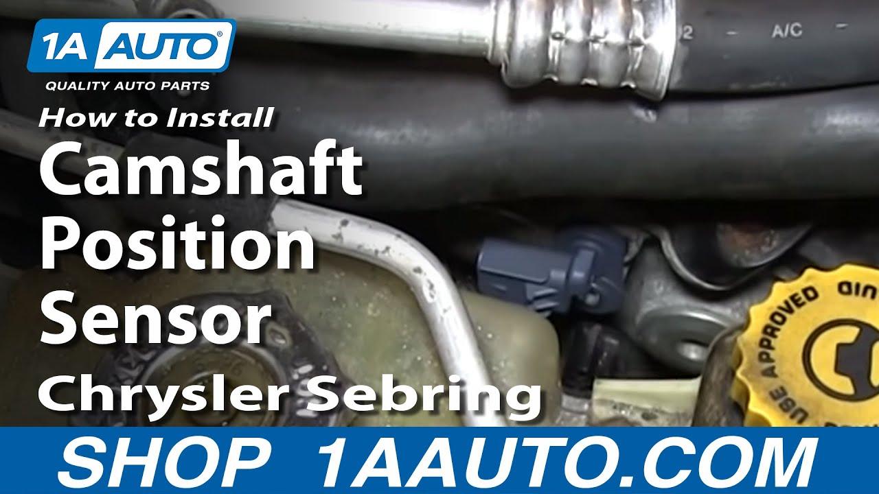 How To Install Replace Camshaft Position Sensor 2.7L V6 Chrysler Dodge