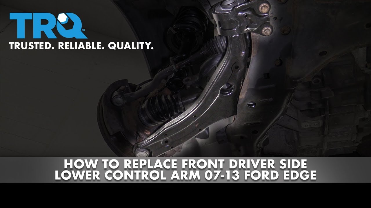 How to Replace Front Driver Side Lower Control Arm 07-14 Ford Edge