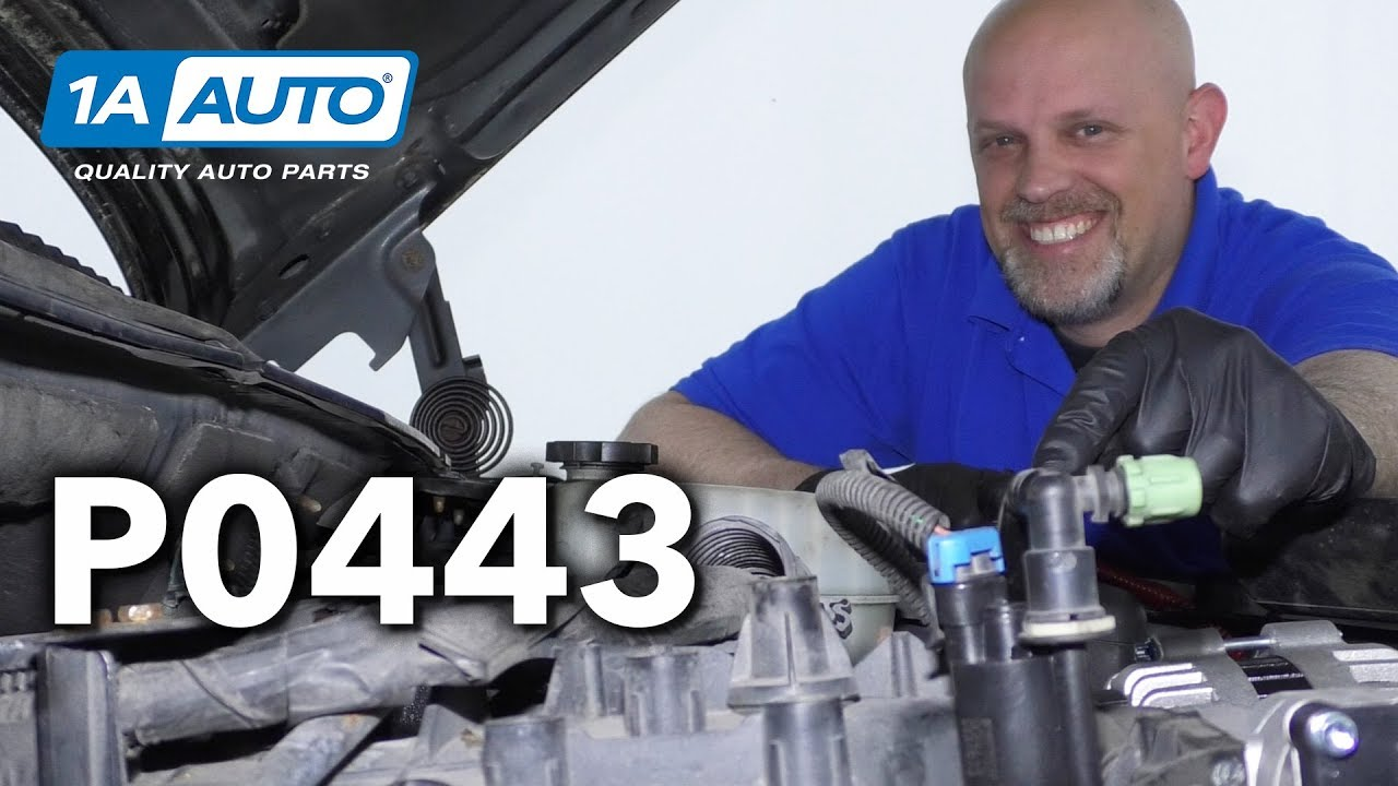 Check Engine Light EVAP Purge Control Valve Circuit Malfunction - P0443