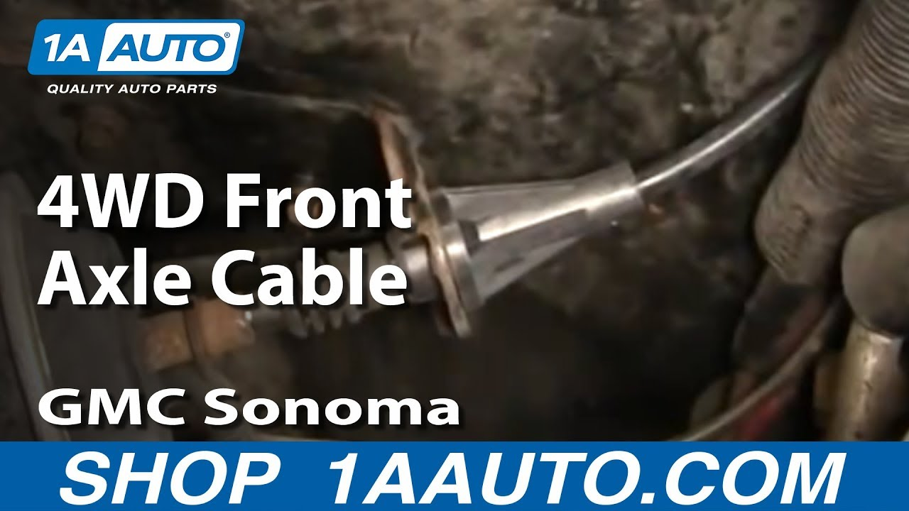 How to Replace Front Differential Shift Cable 91-04 GMC Sonoma