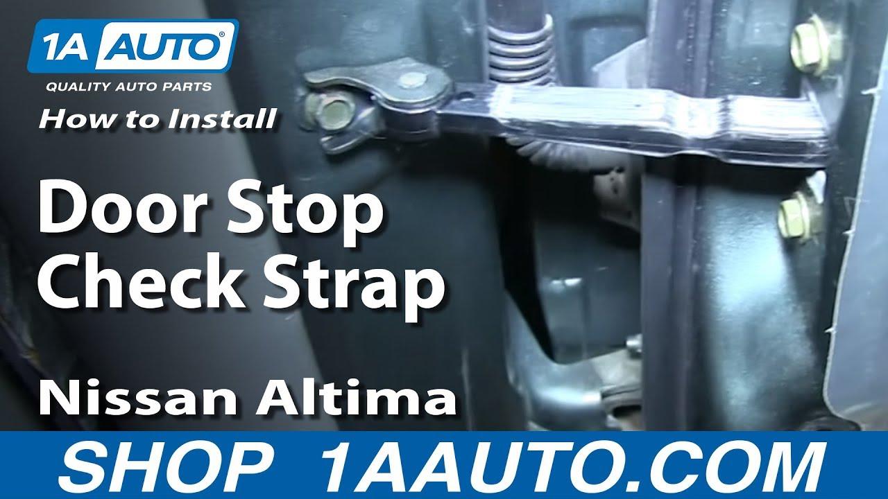 How To Replace Rear Door Stop 02-06 Nissan Altima