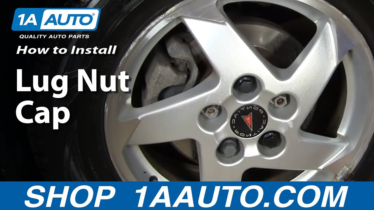 1AAuto.com GM Lug Nut Caps keep your wheels decent!