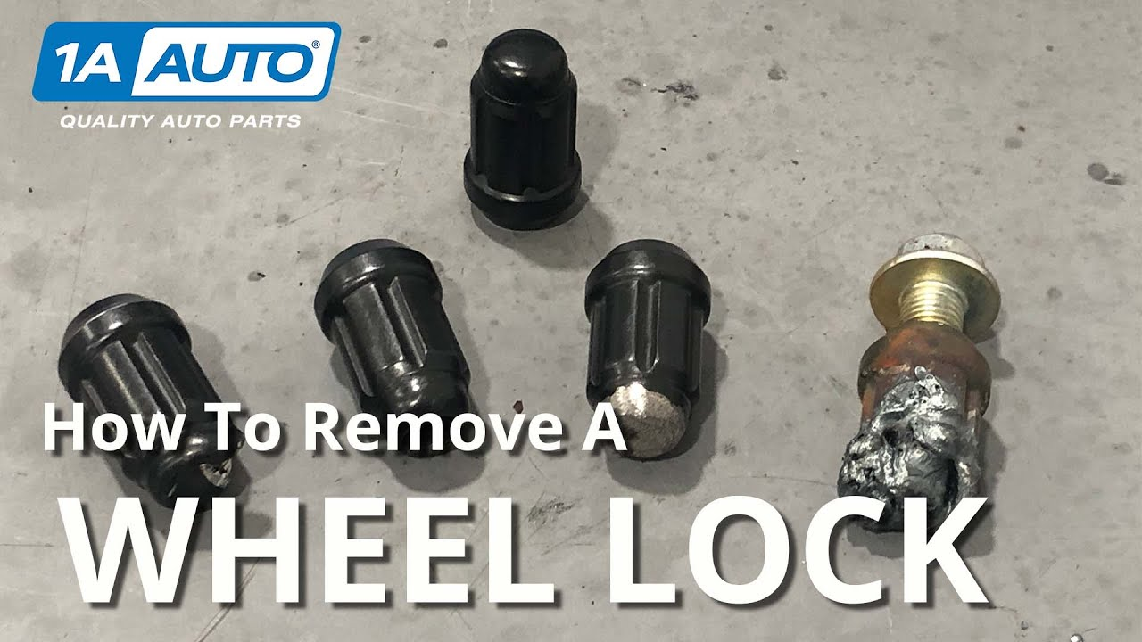 Remove a Locking Lug Nut From Your Car or Truck Without the Key