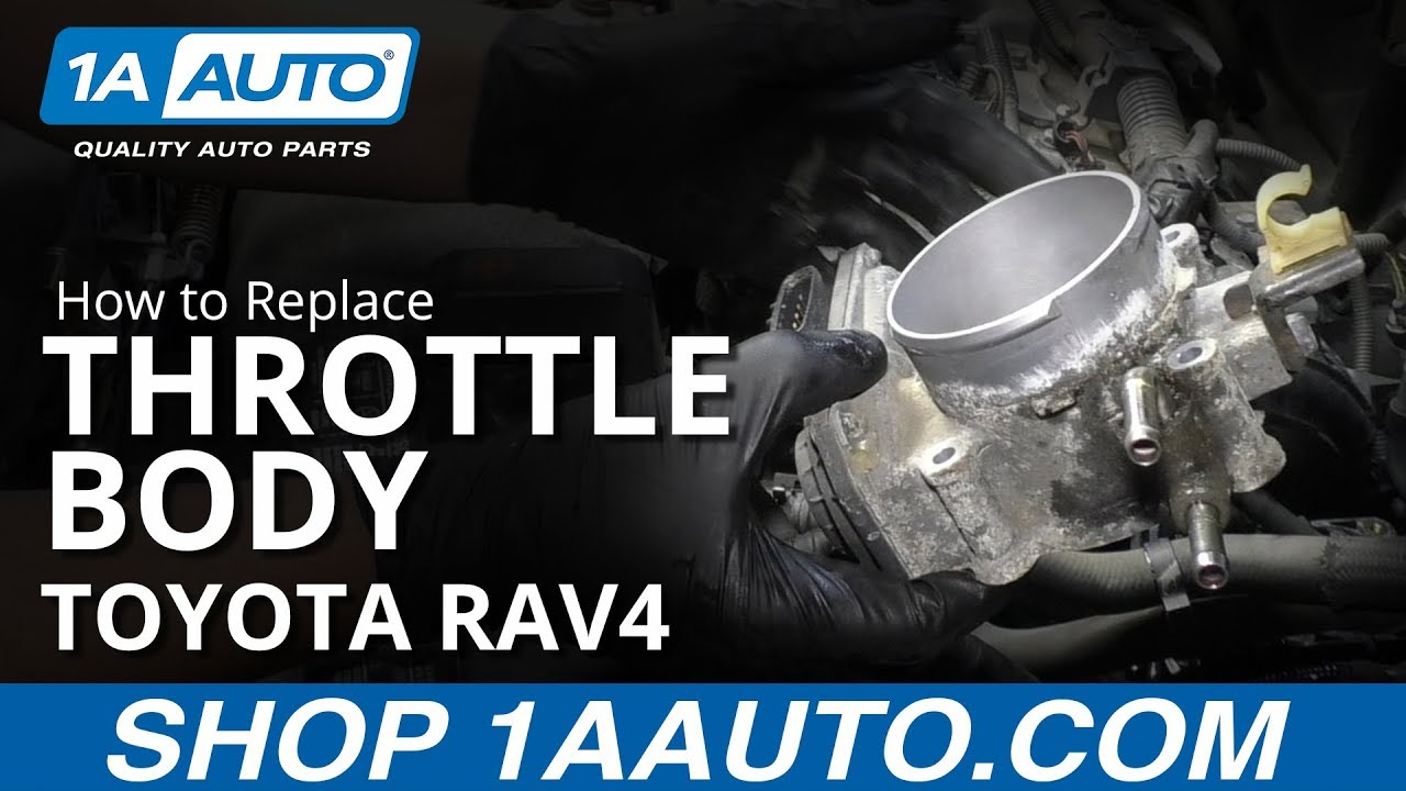 How to Replace Throttle Body 05-16 Toyota RAV4