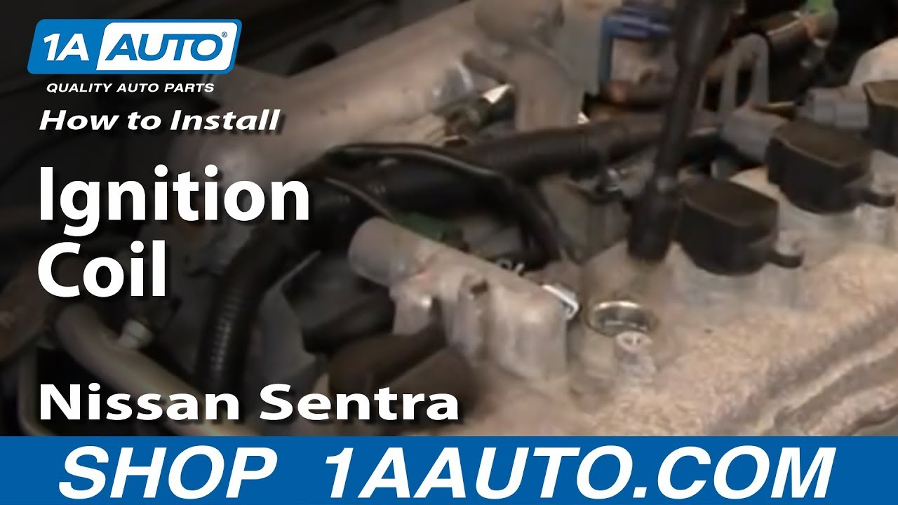 How To Replace Ignition Coils 02-06 Nissan Sentra 2.5L