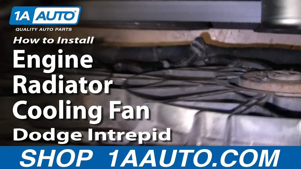 Super How To Replace Radiator Cooling Fan 93 97 Dodge Intrepid 1A Auto Wiring Cloud Toolfoxcilixyz