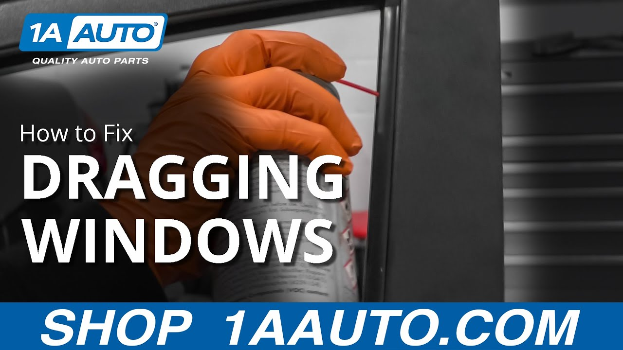 Easy Trick to Fix Dragging Power Windows for Good!
