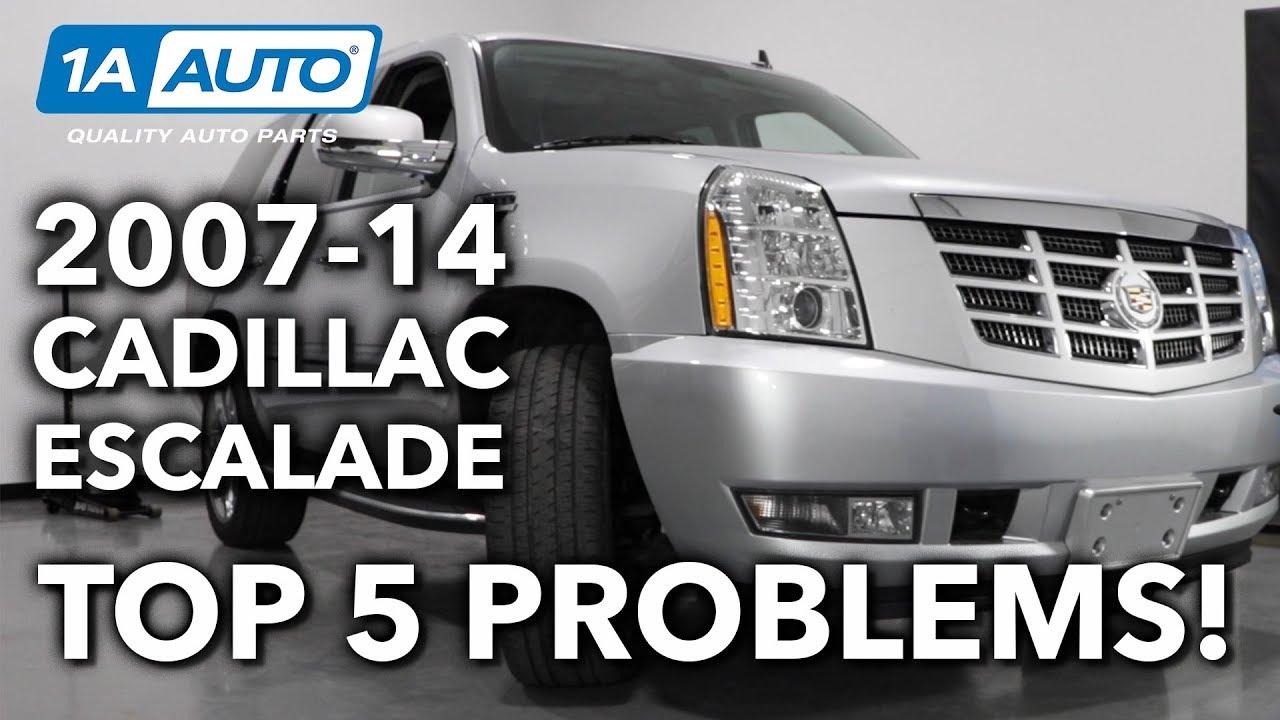 Top 5 Problems: Cadillac Escalade 2007-14 3rd Gen
