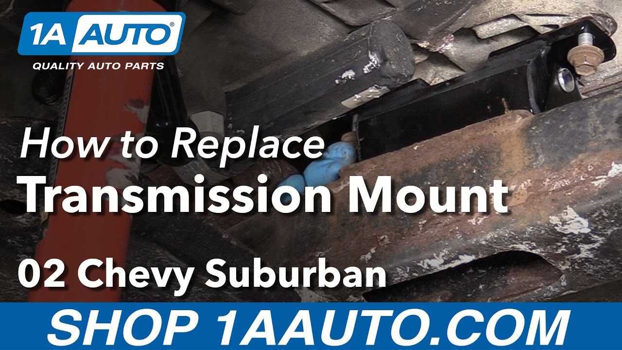 How To Replace Transmission >> How To Replace Automatic Transmission Mount 00 06 Suburban 1500