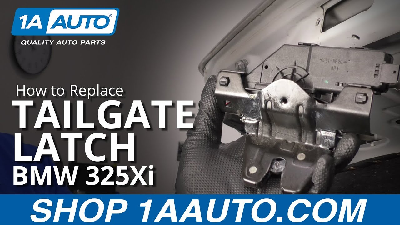 How to Replace Tailgate Latch 97-06 BMW 325Xi