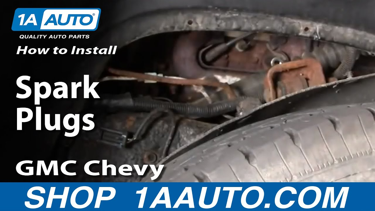 How to Replace Spark Plug 96-00 Chevy Tahoe
