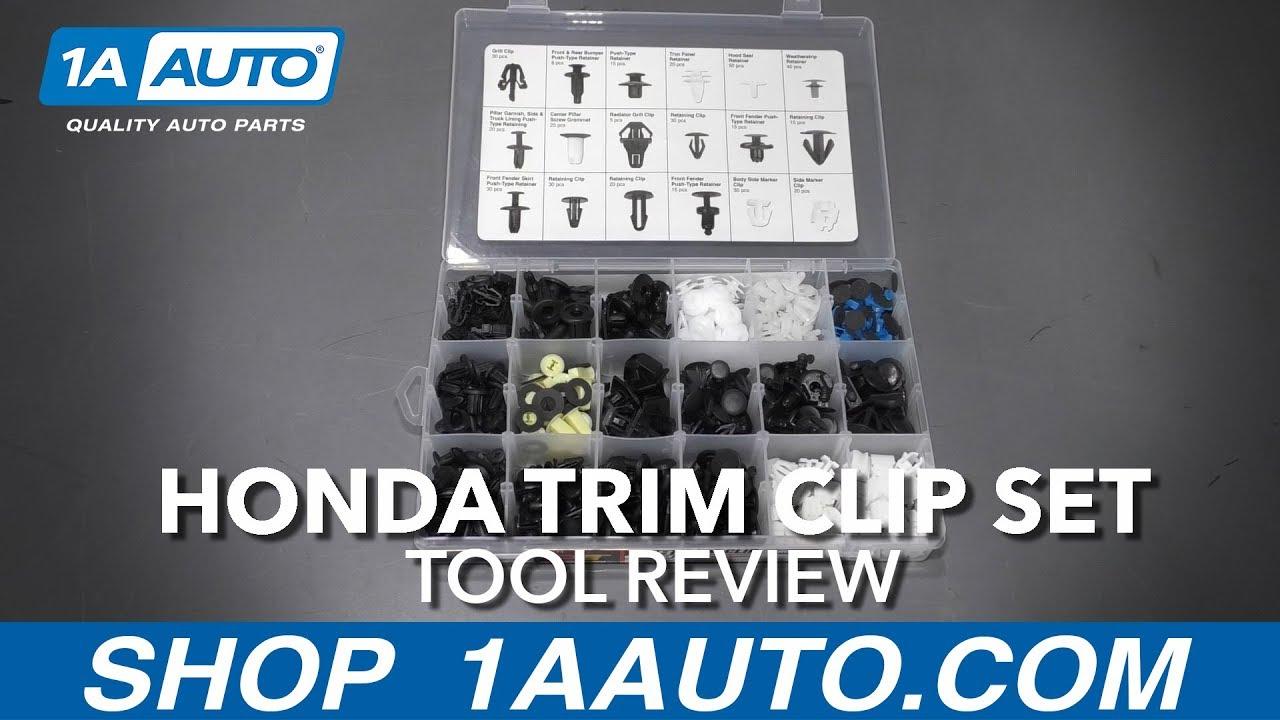 418 pc Trim Clip Assortment Set Honda - Available at 1AAuto.com
