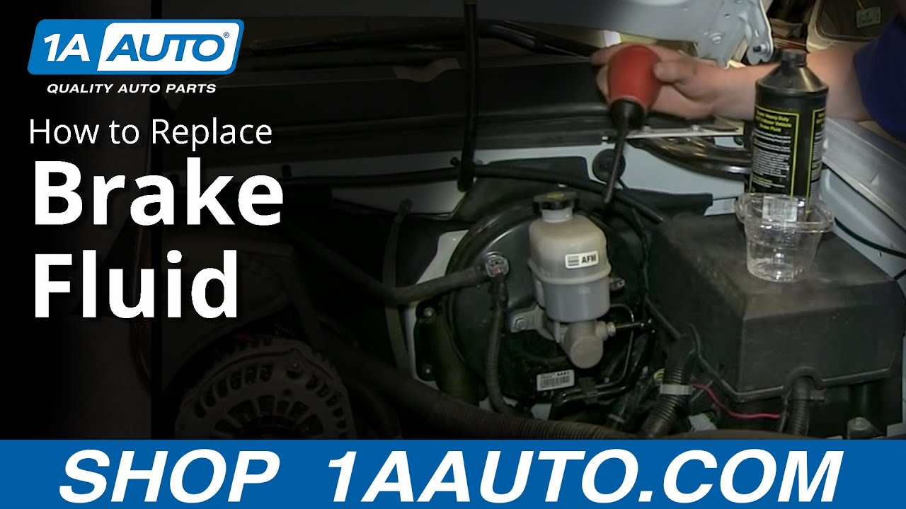Brake Fluid Types & Simple Way To Change The Fluid In The Brake Master Cylinder