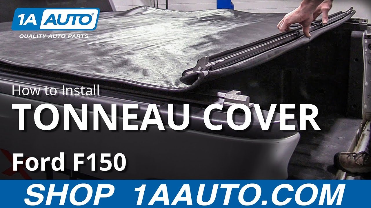 How to Install Roll-Up Tonneau Cover 04-14 Ford F150