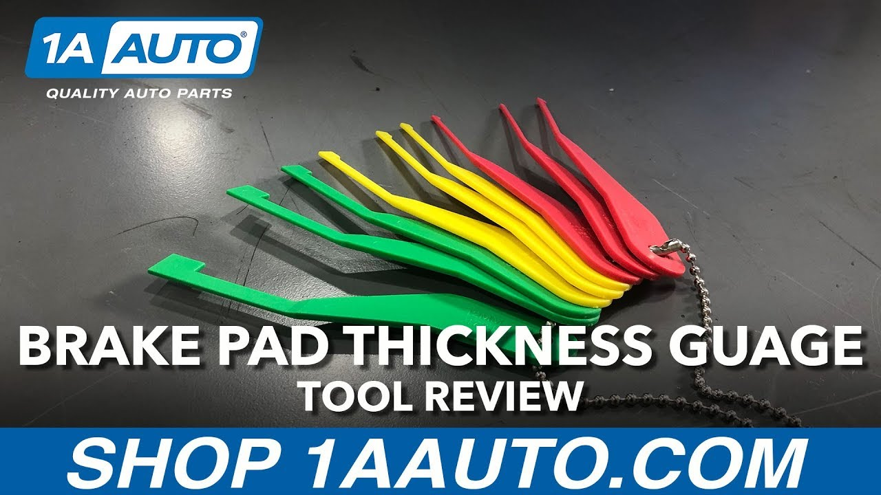 Combination Brake Pad Lining Thickness Gauge Set - Available on 1aauto.com