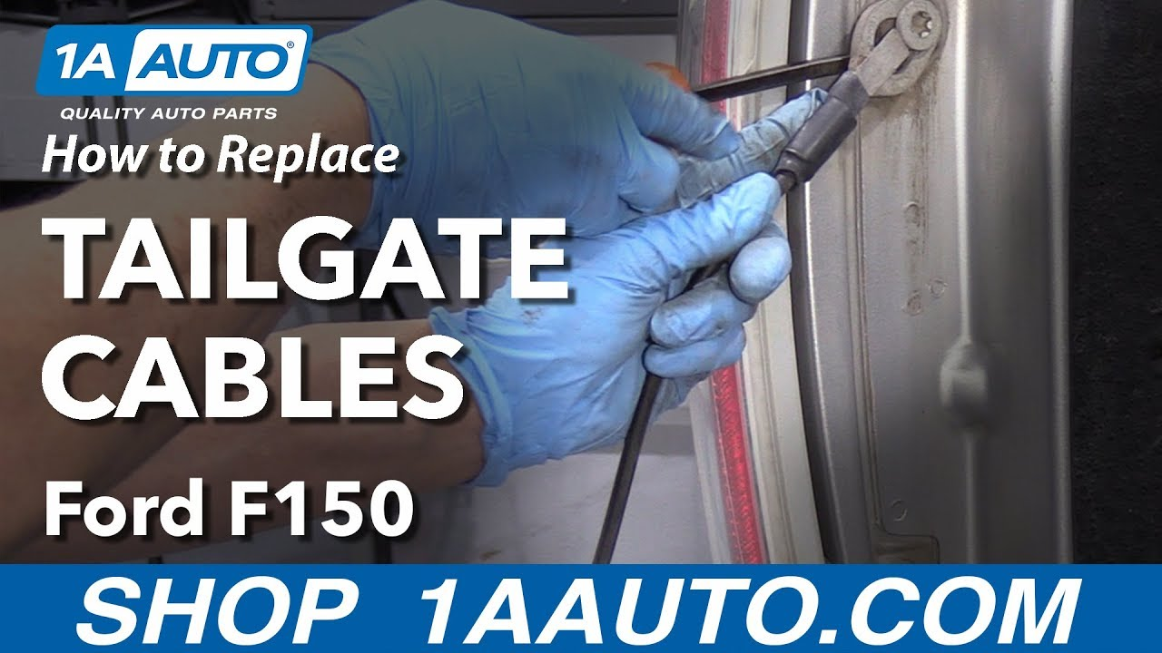 How to Replace Tailgate Cables 09-14 Ford F-150