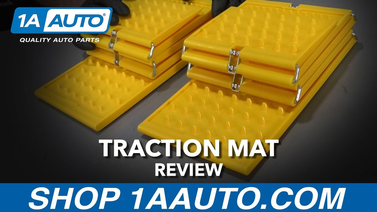 Emergency Folding Traction Mats - Available at 1AAuto.com