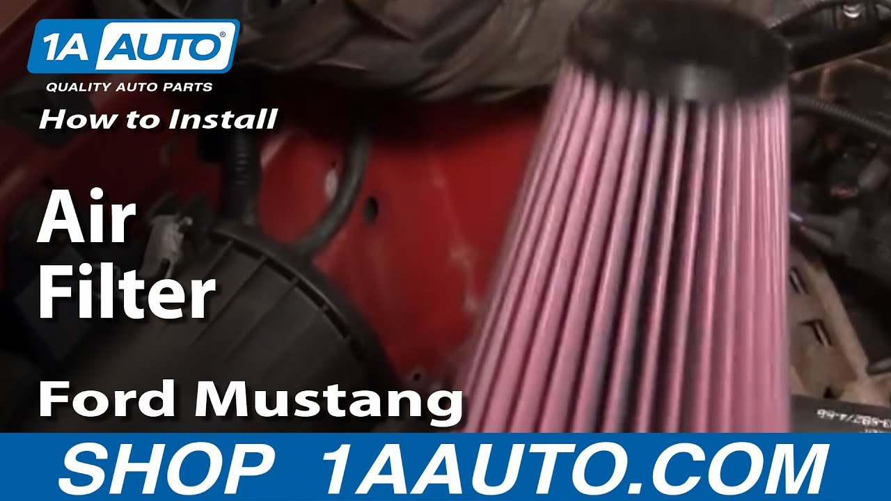 How To Replace Air Filter 94-04 Ford Mustang 3.8L V6