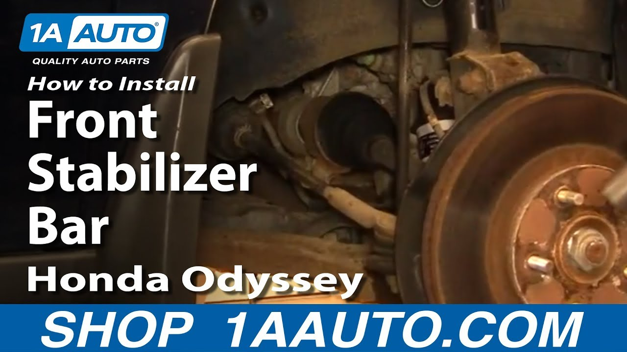 How To Replace Sway Bar Link 99 04 Honda Odyssey 1a Auto