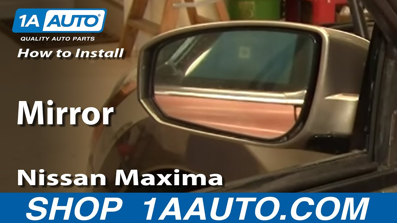 How to Replace Mirror 04-08 Nissan Maxima