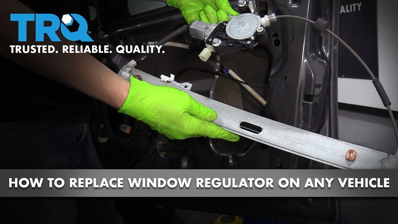 How to Replace Window Regulators on Any Vehicle