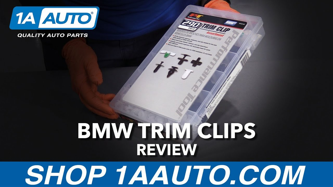 290pc BMW Trim Clip Assortment - Available at 1AAuto.com