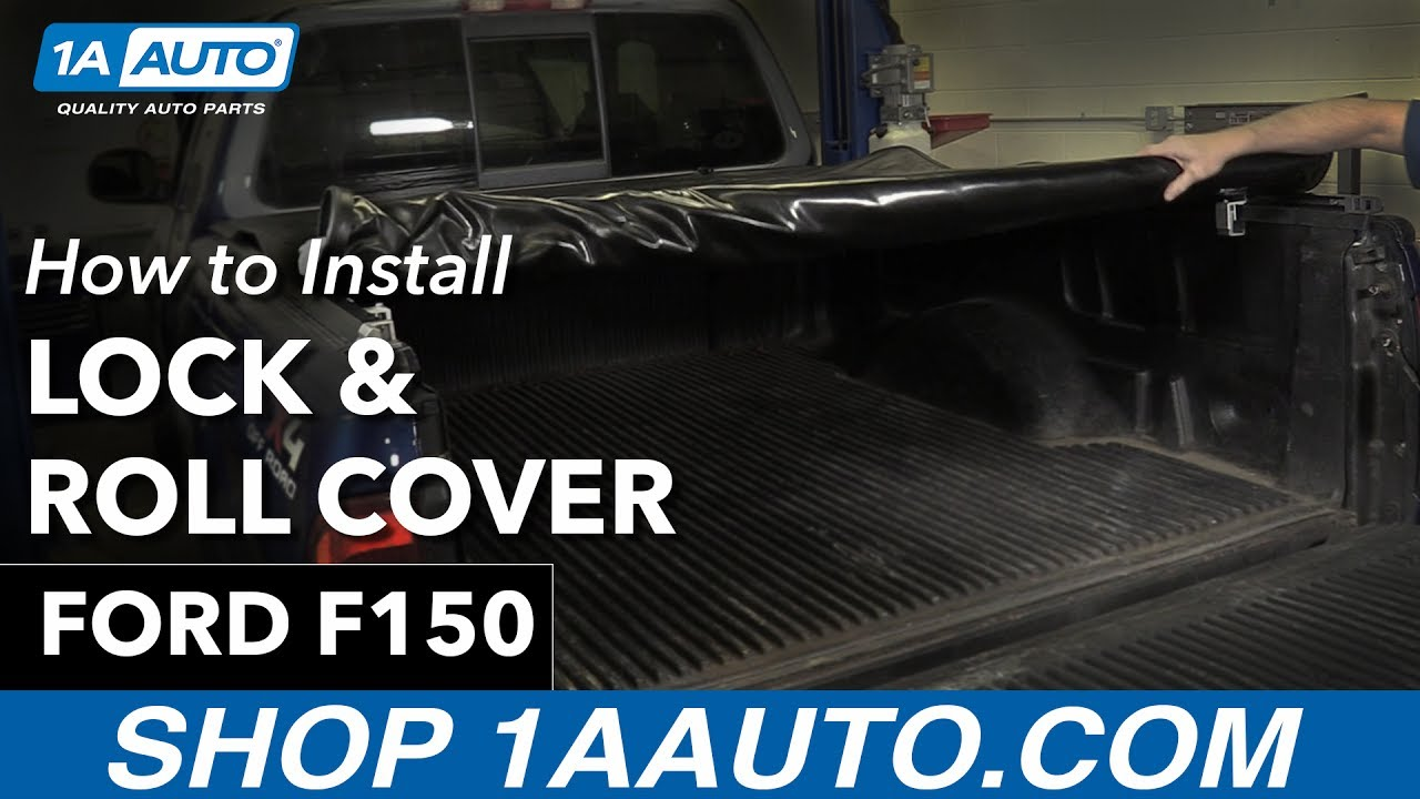 How To Install New Lock & Roll Tonneau Cover 97-03 Ford F150