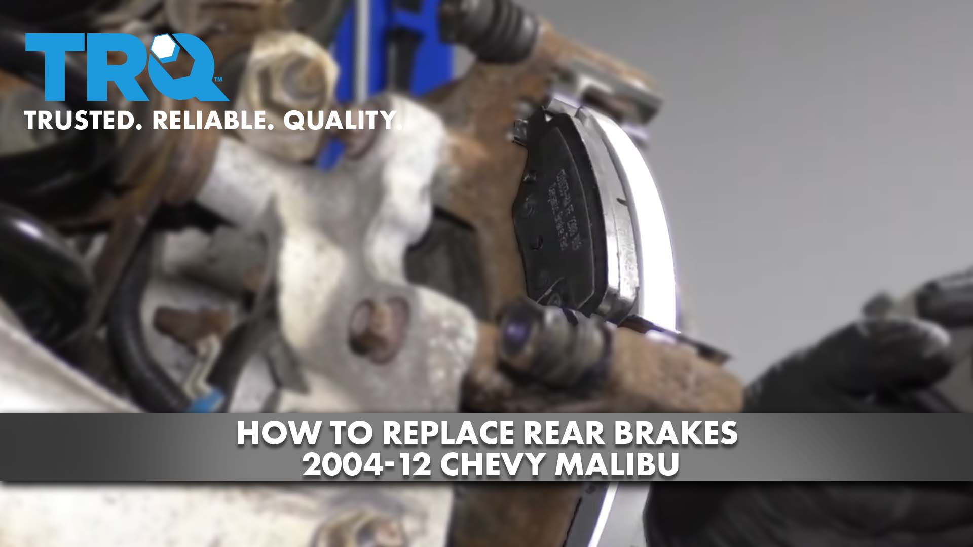 How to Replace Rear Brakes 2004-12 Chevy Malibu