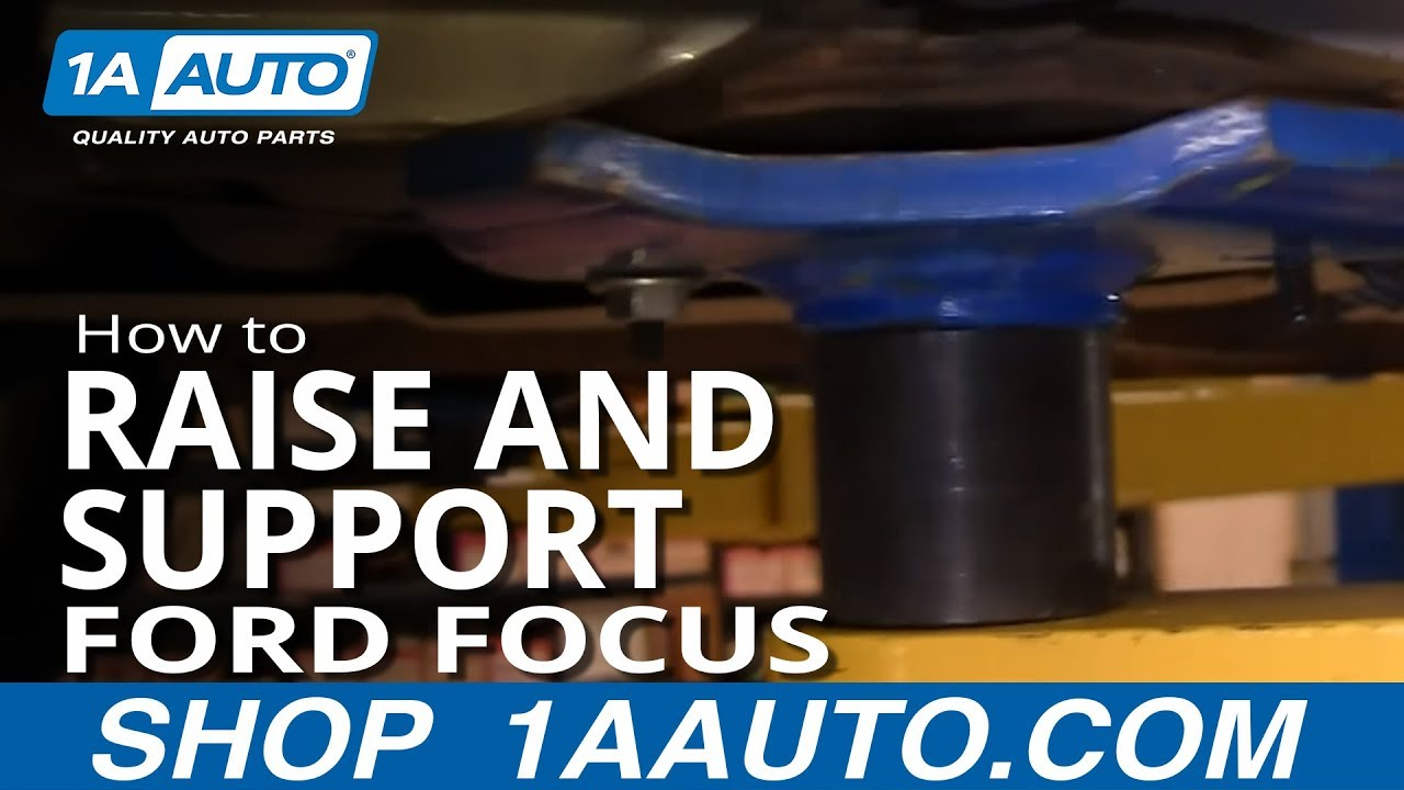 How to Raise and Support 00-04 Ford Focus