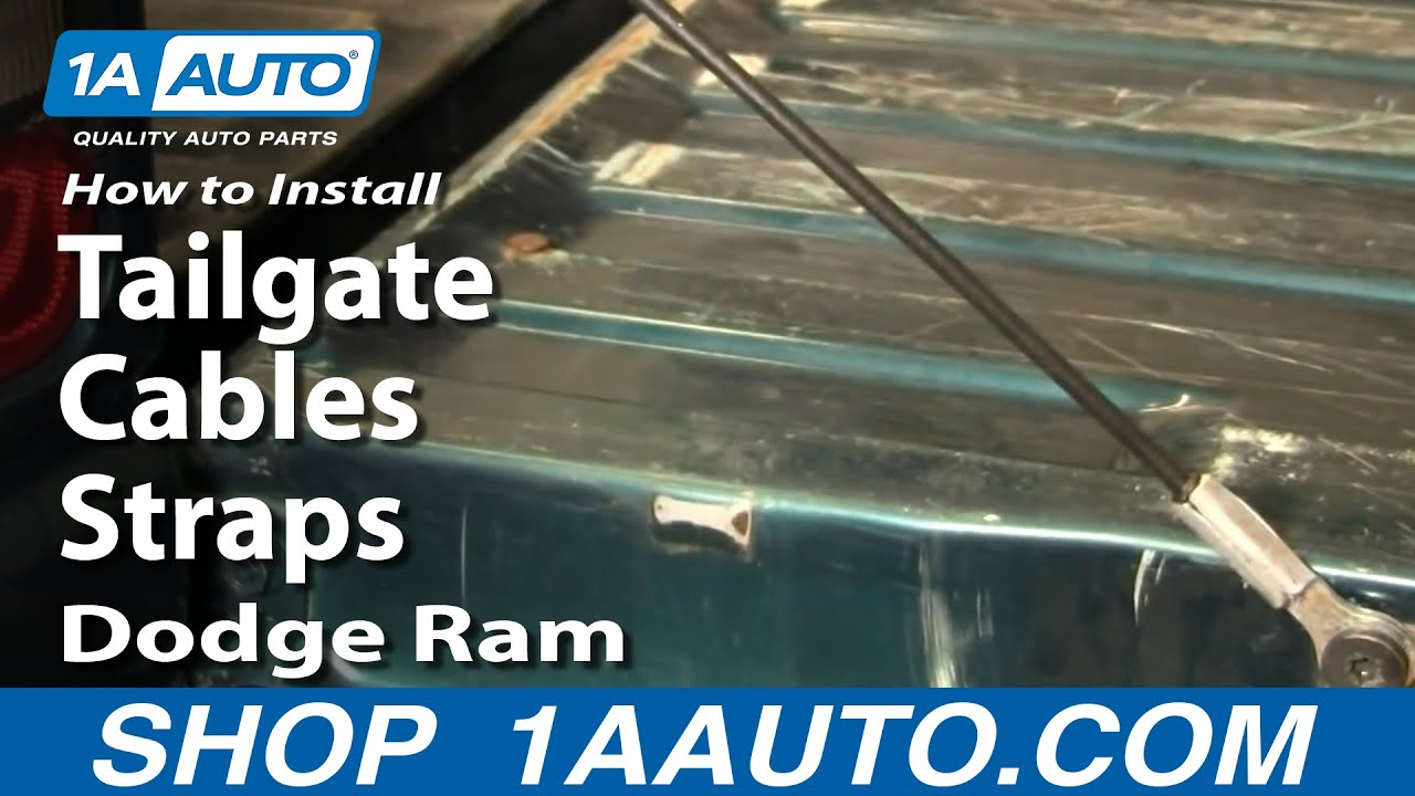 How to Replace Tailgate Cables 94-01 Dodge Ram 1500