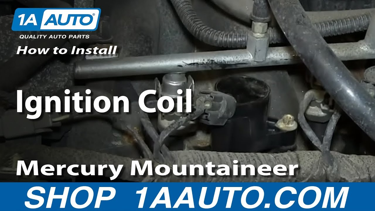 How to Replace Ignition Coil 02-05 Mercury Mountaineer 4.6L V8 | 1A V Ford Coil Wiring Diagram on 1956 oldsmobile wiring diagram, 1958 dodge wiring diagram, 1940 buick wiring diagram, 1956 pontiac wiring diagram, 1953 ford customline, 1955 dodge wiring diagram, 1953 ford transmission, 1965 lincoln wiring diagram, 1955 buick wiring diagram, 1953 ford wheels, 1955 plymouth wiring diagram, 1951 dodge wiring diagram, 1957 dodge wiring diagram, turn signal wiring diagram, 1958 thunderbird wiring diagram, 1964 cadillac wiring diagram, 1949 cadillac wiring diagram, 1961 cadillac wiring diagram, 1956 mercury wiring diagram, 1954 dodge wiring diagram,