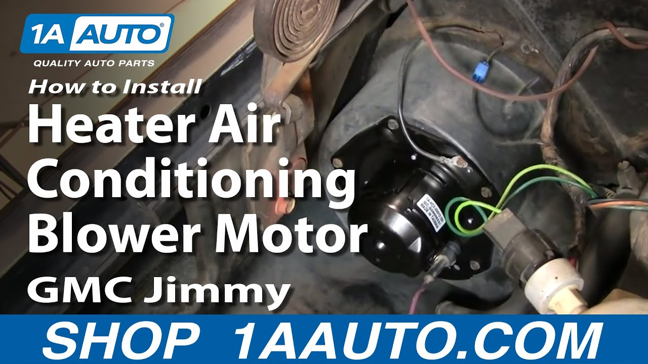 How To Replace Heater Blower Motor 70