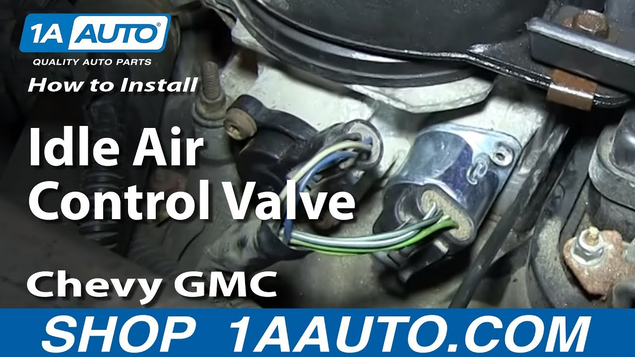 How To Replace Idle Air Control Valve 96 00 Chevy Tahoe