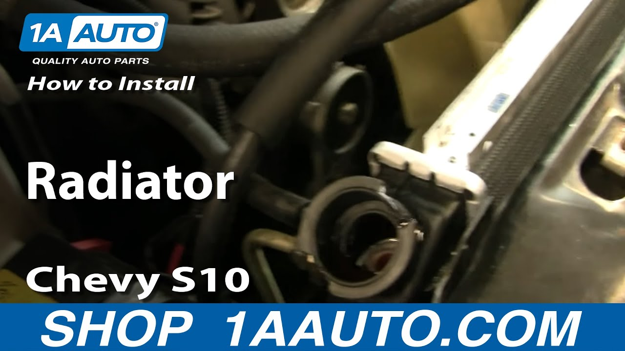 How to Replace Radiator 96-04 Chevy S10 Pickup