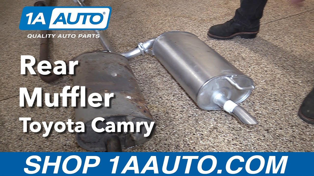 How to Replace Muffler 97-01 Toyota Camry