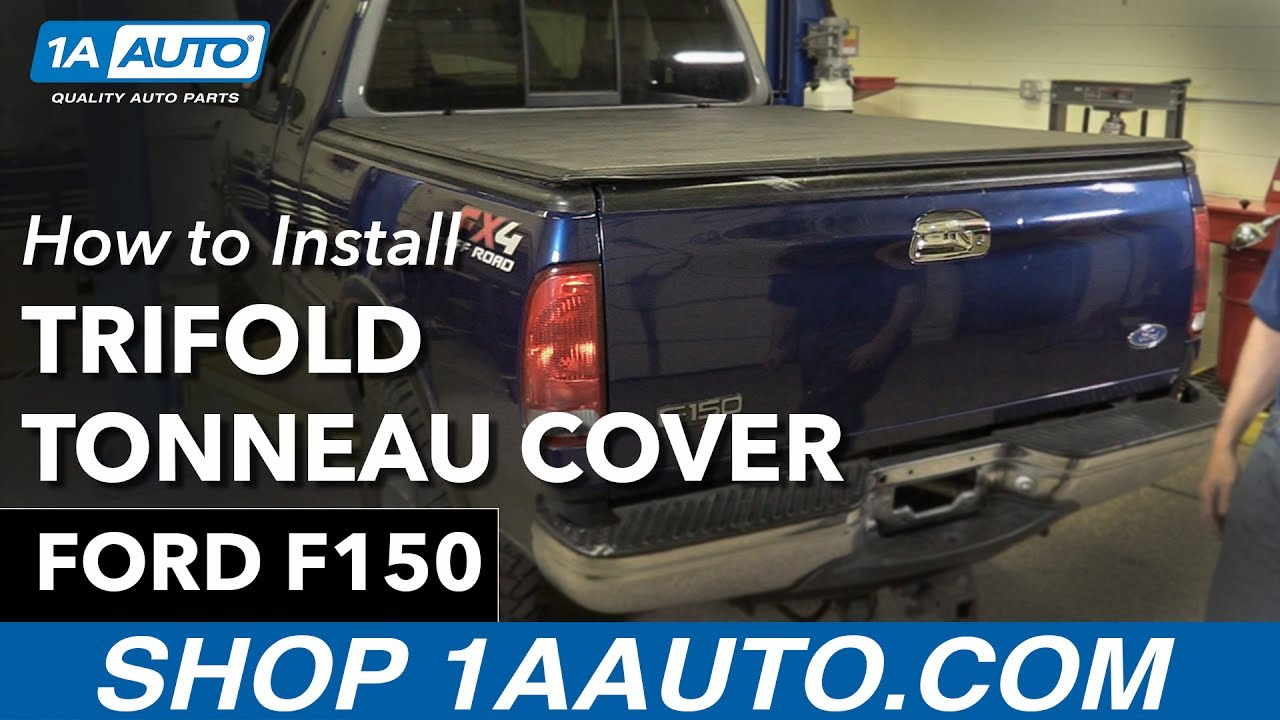 How To Install Trifold Tonneau Cover 97-03 Ford F150