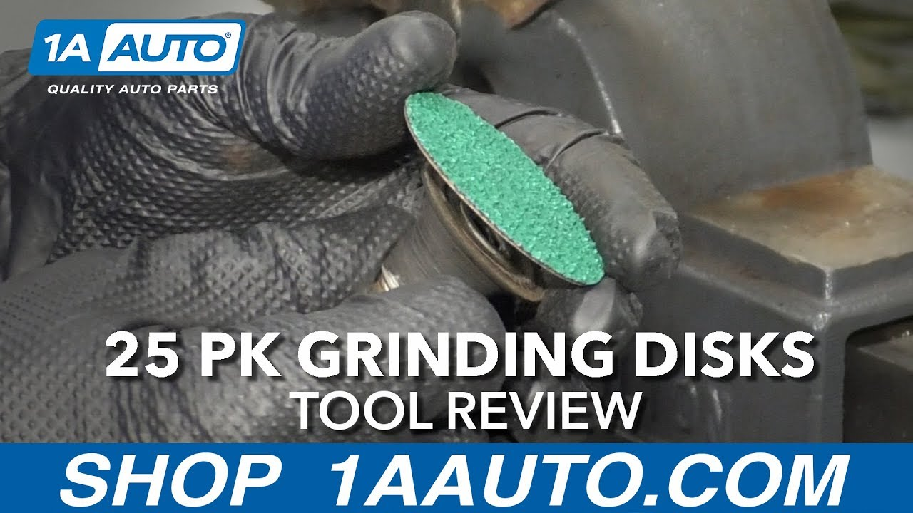 25 pk Grinding Disks - Available at 1AAuto.com