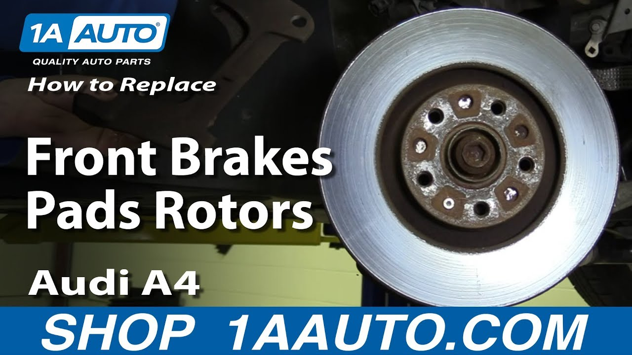 How to Replace Front Brakes 05-08 Audi A4