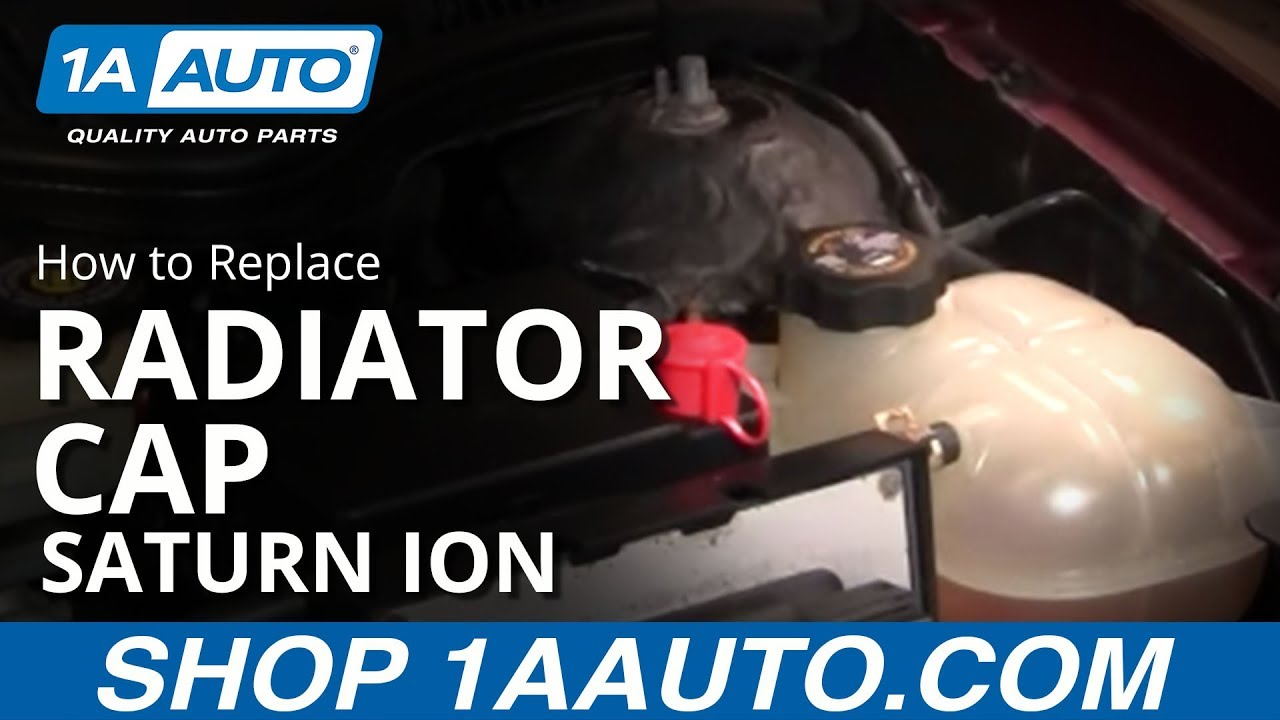How to Replace Leaking Radiator Cap 03-07 Saturn Ion