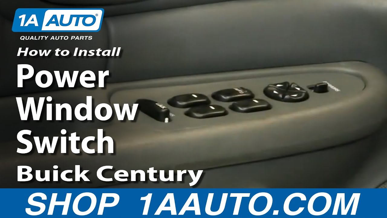 How to Replace Power Window Switch 97-05 Buick Century