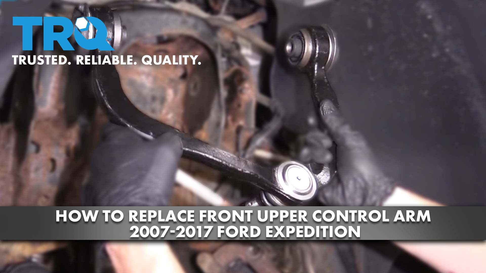 How to Replace Front Upper Control Arm 2007-17 Ford Expedition