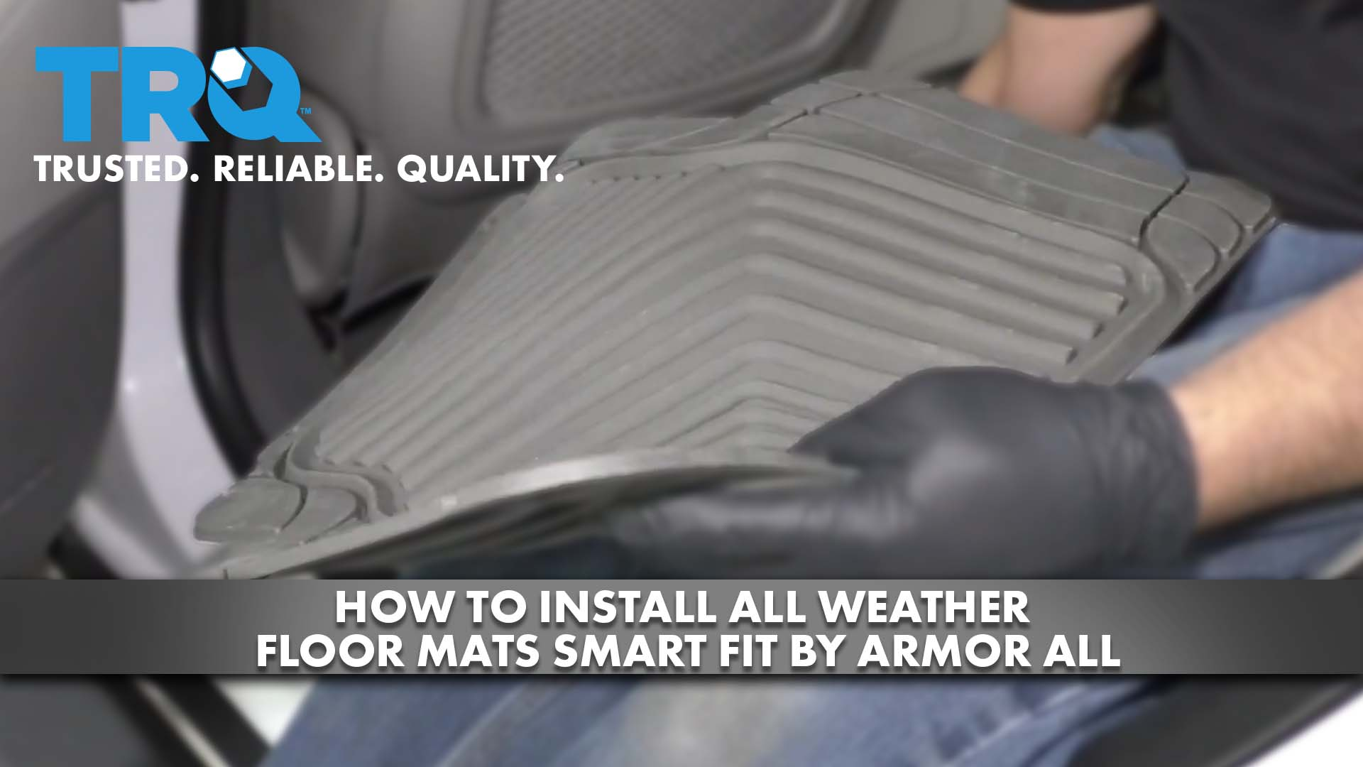 How To Install All Weather Floor Mats Smart Fit by Armor All
