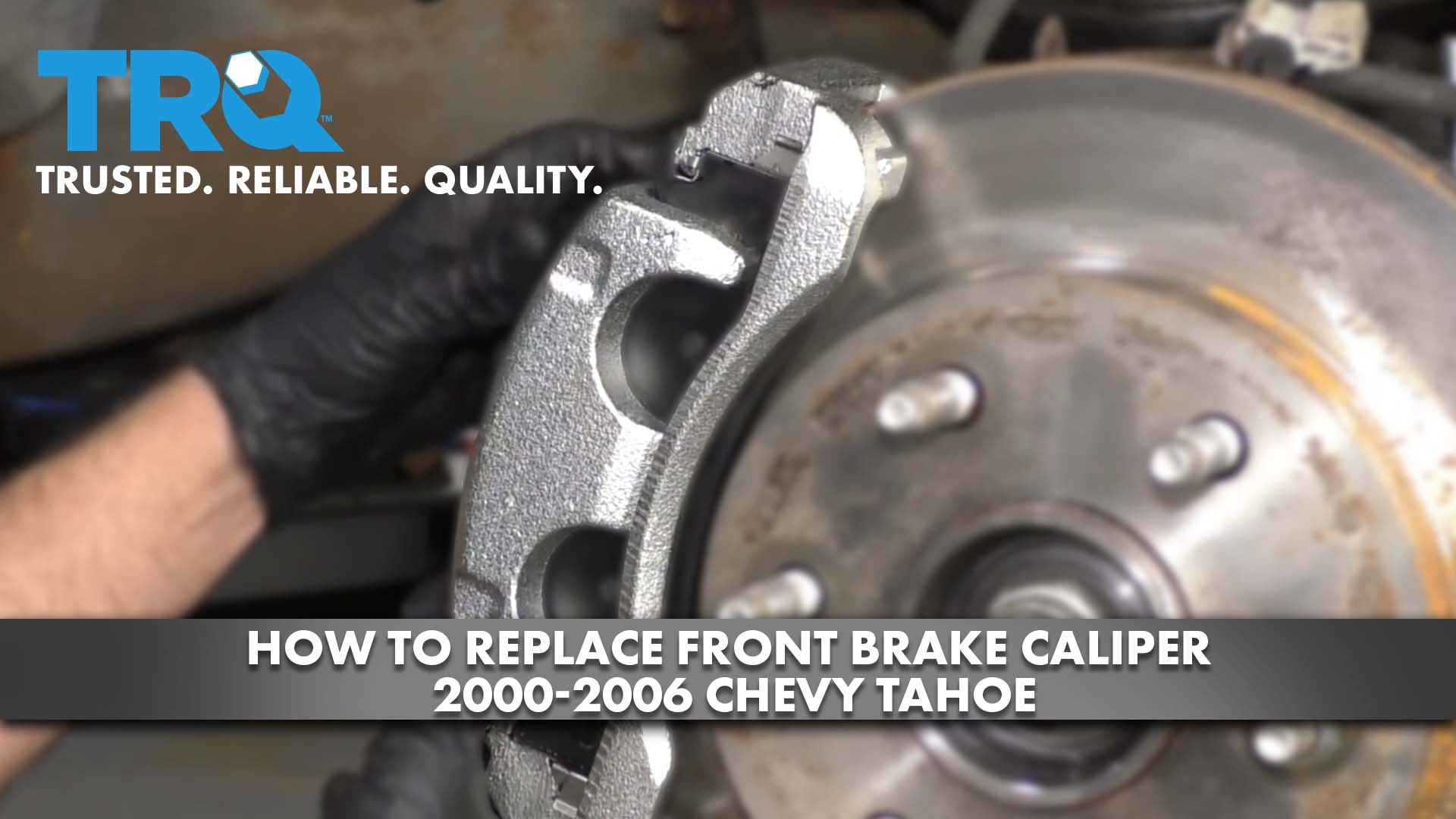 How to Replace Front Brake Caliper 2000-06 Chevy Tahoe