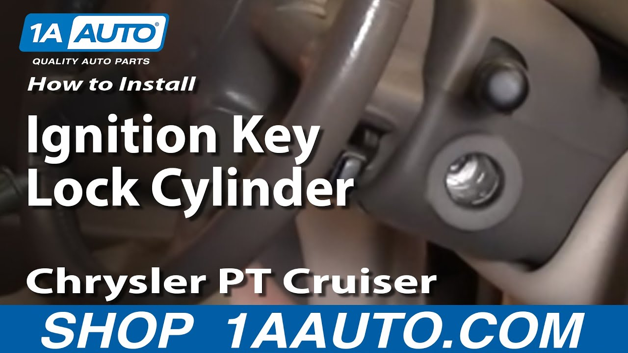 How to Replace Ignition Lock Cylinder 01-05 Chrysler PT Cruiser