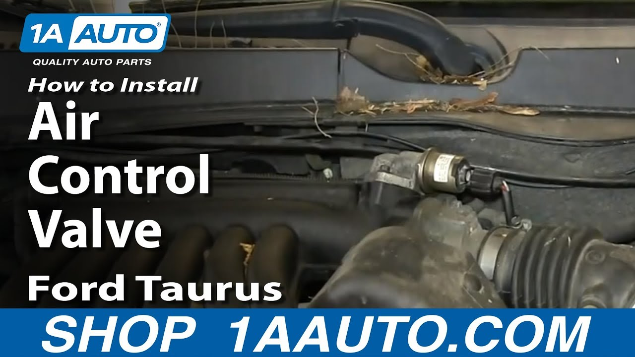 How to Replace Idle Air Control Valve 01-07 Ford Taurus