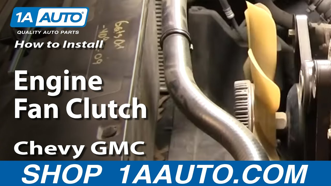 How to Replace Radiator Fan Clutch 96-04 GMC Yukon