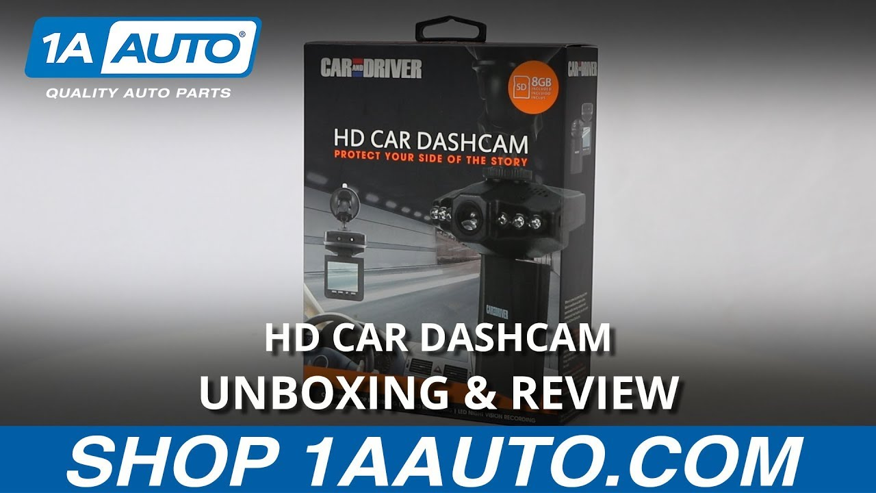 HD Car Dashcam - Unboxing & Review